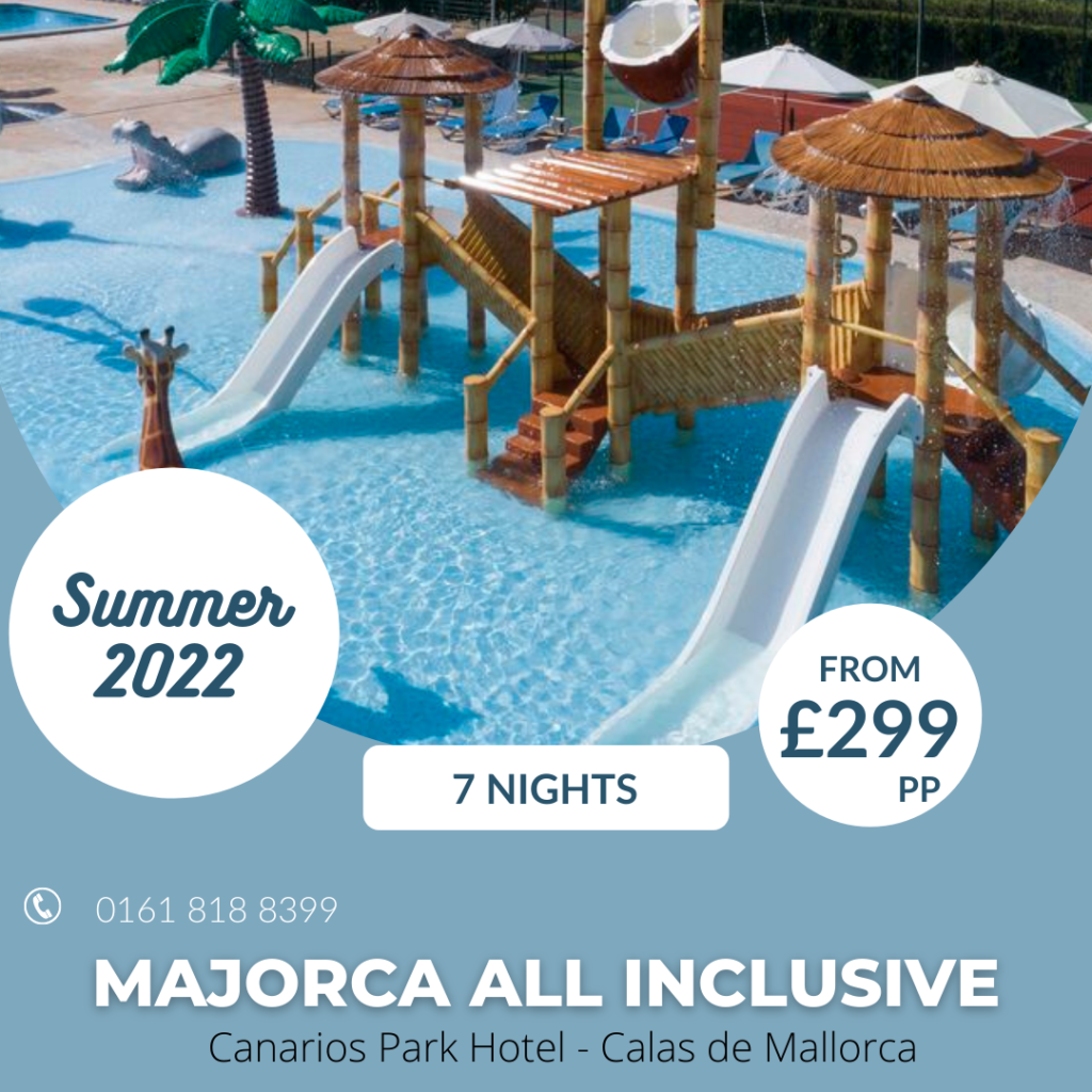 All Inclusive Majorca from £299pp