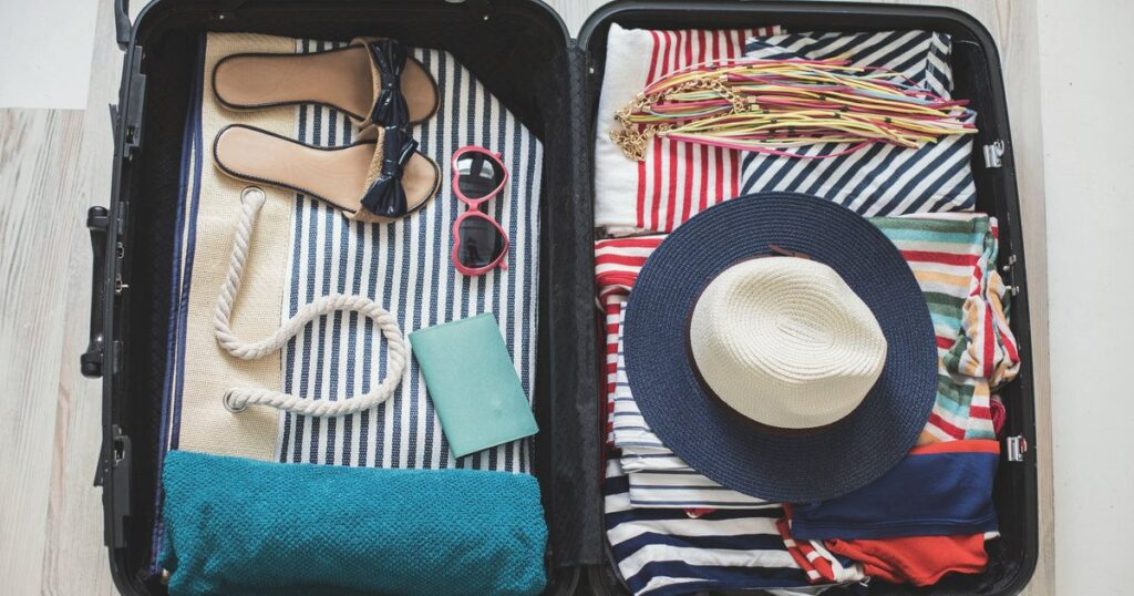 Tips for travelling with just hand luggage